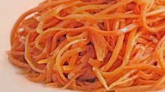 Простой рецепт настоящей моркови по-корейски