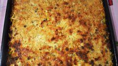 Как приготовить тыквенную запеканку с фаршем под сырной шапкой