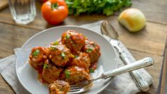 How to cook meatballs from minced meat