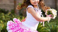 Как сшить пышную юбку для девочки