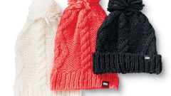 How to knit a hat with two knitting needles