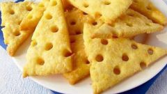 Сырные крекеры по-домашнему
