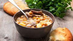 Быстрый рецепт горохового супа
