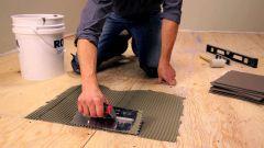 Как уложить плитку на основание из гипсокартона