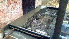 Как сделать крыльцо из бетона своими руками