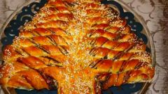 Как испечь новогодний пирог «Елочка»