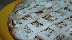 Как приготовить ржаной пирог с айвой
