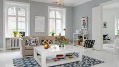 Скандинавский стиль в городской квартире