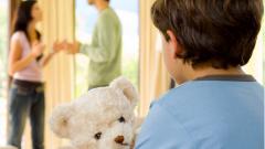 Развод родителей – стресс для ребенка