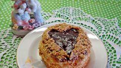 Как приготовить пирожные «Валентинки» своими руками
