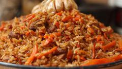 Как приготовить плов, чтобы рис был рассыпчатым