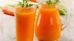 Вкусный коктейль из сельдерея и моркови