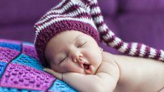 Безопасный сон младенца: 10 важных советов.