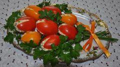 """Рецепт закуски на 8 марта """"Тюльпаны"""""""