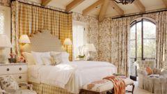 Как правильно оформить спальню в стиле кантри