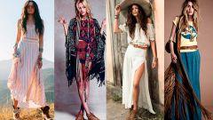 Стиль богема в одежде