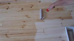 The rules of painting wooden floor