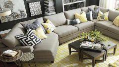 Куда поставить диван в комнате