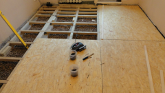 The General sequence of repair floor in the apartment