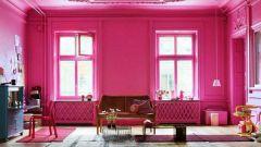 Розовый цвет в интерьере: как не создать