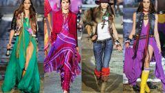 Новая тенденция в моде - стиль бохо-шик