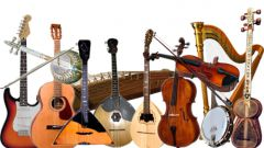 Musical instruments of the peoples of the world