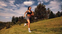 The benefit of running. Strengthening of the body