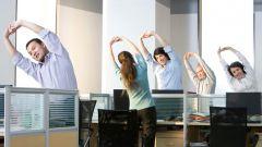 Как поддержать фигуру в форме при сидячей работе