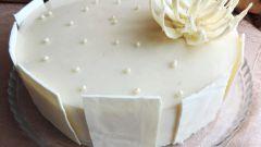 Как сделать брусничный торт с белым шоколадом
