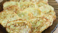 Рецепт терунов из кабачка