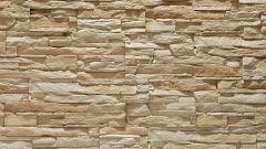 Как облицевать стену песчаником