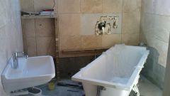 Порядок ремонтных работ в ванной комнате