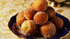 Как сделать яблочно-апельсиновые пончики