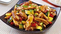 Как приготовить курицу по-китайски с арахисом