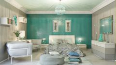 The color effect of the bedrooms for privacy