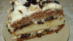 Как приготовить торт с черносливом