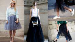 С какой одеждой лучше носить юбку-пачку?