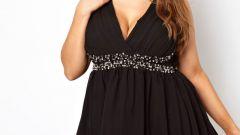Как подобрать модное платье для полной девушки
