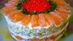 Мужской закусочный торт