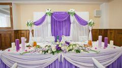 Оформляем свадьбу в сиреневом цвете