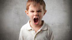 Большой гнев маленького ребенка