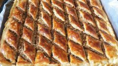 How to cook Arabic baklava