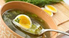 Щавелевый суп в мультиварке