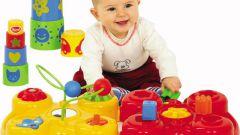 На чем остановить свое внимание при выборе игрушки ребенку возрастом до одного года?