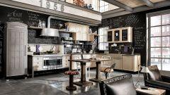 Интерьер для небольшой кухни