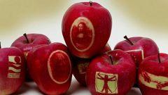 Для чего использовать маркированные яблоки