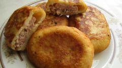 Пирожки из картофеля с мясом
