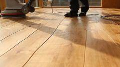 Шлифовка и покраска деревянного пола