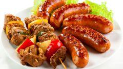 Шашлык на пиве (свинина, курица, говядина и баранина)