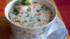 Как приготовить горячий молочный рыбный суп